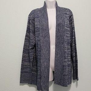 BonWorth Size M Open Front Cardigan Sweater